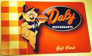$20 Daly Gift Cards