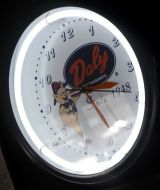 "20"" Daly Neon Clock"